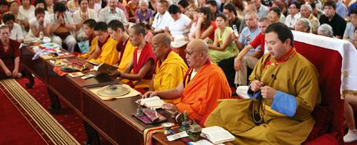 Kalmückien. Golden Aufenthaltsort des Buddha Shakyamuni