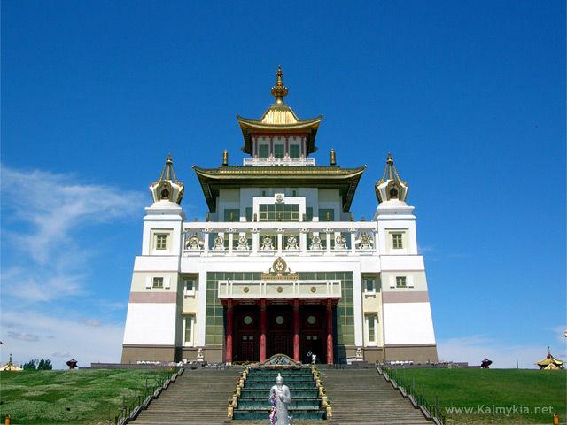 Golden Aufenthaltsort des Buddha Shakyamuni