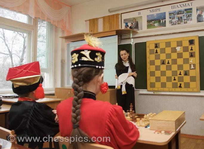Master class Alexandra Kosteniuk