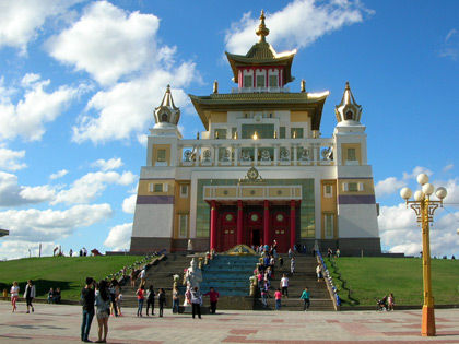 Golden abode of Buddha